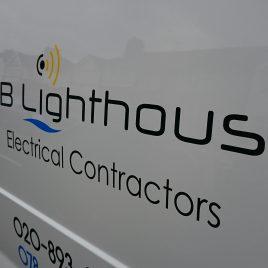 electrician ruislip sign