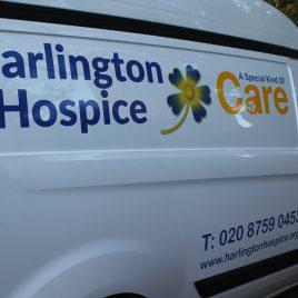 charity van graphics