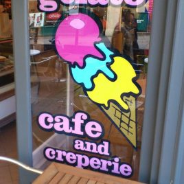 window ice cream logo