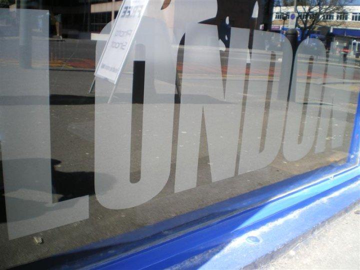 london window graphics