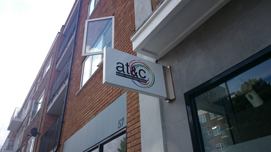 at&c sign