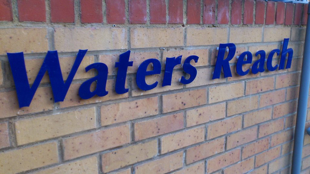 waters reach lettering 2