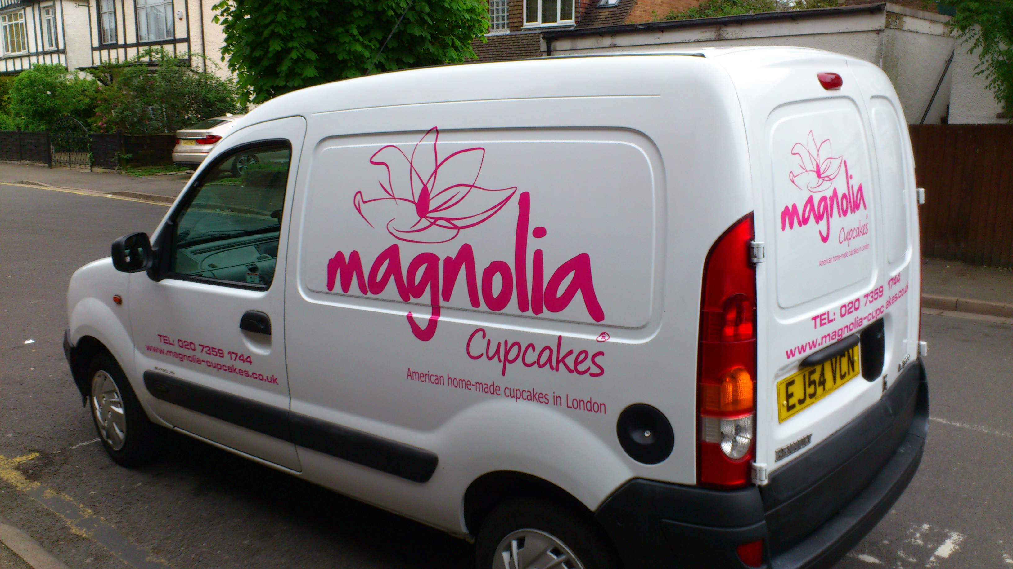 Magnolia Cupcakes Vehicle Graphics Ruislip Signs And