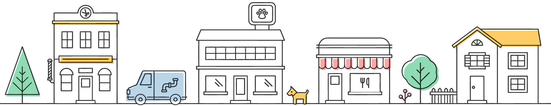 shop illustration